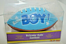 It's a Baby Boy Mini Football - Baby Shower Gift or Keepsake