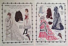 Vintage Pat Stall EFFIE, A Bride & her Trousseau, 1985 Paper Doll Uncut