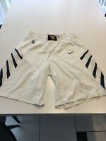 Game Worn Used West Virginia WVU Mountaineers Basketball Shorts Nike Size 42