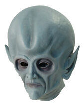 Alien Latex Mask Extraterrestrial Halloween Space Cosplay Fancy Dress Accessory