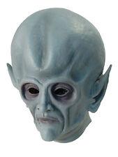 Alien Latex Mask Extraterrestrial Halloween Space Cosplay Fancy Dress Accessory