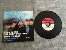 Rolling Stones CD Single Let's Spend the Night Together/Ruby Tuesday Card Sleeve