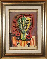 Pablo Picasso (French,1881-1973) Le Corsage Original Color Lithograph Print