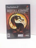 Mortal Kombat: Deception (Sony PlayStation 2, 2004)  CIB Tested Fast Shipping