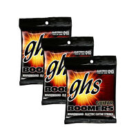 3-Pack GHS GB7M Boomers 7-String Medium Heavy Electric Guitar Strings 10-60