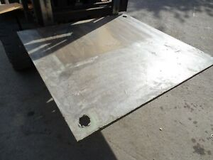 Steel Road Plate 1320 x 1255 x 15mm £150 + vat