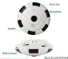 360 Degree Panoramic Wi-Fi HD 1.3MP Wireless IP Camera Fisheye Night Vision,