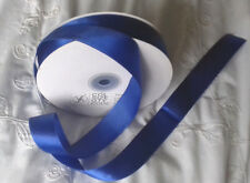 5 mtrs Royal Blue single faced Satin Ribbon 24 mm,1 inch wide