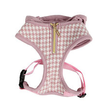 Puppia - Dog Puppy Soft Harness w Hoodie - Prestige - Indian Pink - Large