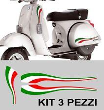 Kit Adesivi Fregi Vespa PX anniversario tricolore italia 70 LML STAR T5 stickers