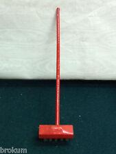 Dollhouse Miniature Wood Push Broom w/Bristles ~Antique Furniture ~Germany