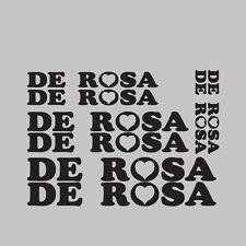 8X de Rosa moto / vélo / cycle / push bike frame stickers autocollants kit