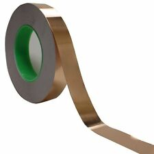 "Copper Foil Tape - 1"" x 55 Yds -  EMI Conductive Adhesive / Ship from USA"