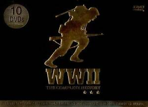 NEW DVD: WWII The Complete History 10 DVDs