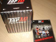 BOX 11 DVD TOP 10 MOTOMONDIALE MOTOGP 2011 VALENTINO ROSSI AGOSTINI DOOHAN