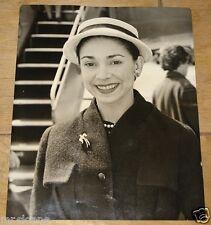 MARGOT FONTEYN IN DUBLIN FLEET STREET VINTAGE PRESS PHOTO 1957
