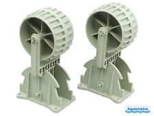New Flipup Boat Launching Wheels - for Dinghy/Inflatable/Aluminum/RIB/etc