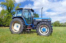 FORD 8240 FOUR WHEEL DRIVE TRACTOR