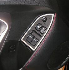 Brushed Satin Metal Window Switch Surround 2013-2017 Scion FR-S FRS Subaru BRZ