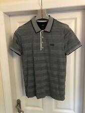 Hugo boss Pima cotton polo shirt size medium regular fit,stripe