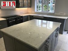 Carrara Opal Quartz Kitchen worktops | Affordable prices | All colours available