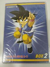 DRAGON BALL GT THE SAGA OF SUPER A-17 2 X DVD SLIM CAPIT 41-48 SPANISH JAPANESE