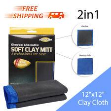 Microfiber Magic Clay Towel Clay Bar Cloth Car Detailing Cleaning Wash Mitt