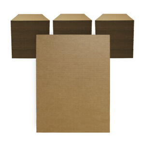 """300 - 12"""" x 16"""" Corrugated Cardboard Pads/Inserts/Sheets 32 ECT Made in USA"""