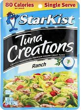 25 Starkist Tuna Creations Ranch Flavor Single Serve 2.6-Ounce Pouch