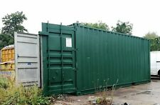 20 ft x 8 ft  Refurbished Steel Shipping Container *** MANCHESTER *** Green