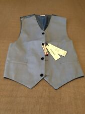 Calvin Klein Boys Blue Formal Vest Size XL And 18 To 20 New With Tags