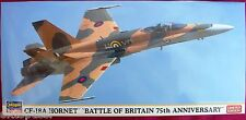 HASEGAWA 02181 CF-18A HORNET * BATTLE OF BRITAIN 75TH ANNIVERSARY - LIM. EDITION