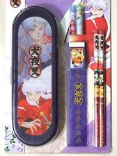 INUYASHA Pencil case cap ruler eraser set official anime Sesshomaru authentic