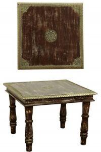 orientalischer Vintage Tisch Couchtisch Wohnzimmertisch Beistelltisch  Holz 55cm