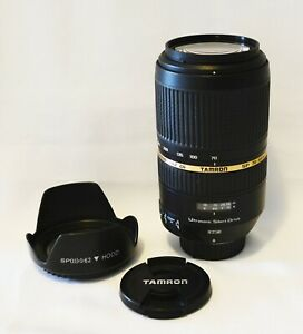 Tamron SP 70-300mm f/4-5.6 Di VC USD Lens for Nikon - As new