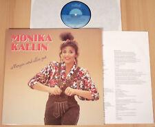 MONIKA KAELIN - Morgen wird alles gut  (INTERCORD 1988 + OIS / LP NEUWERTIG)