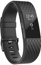 Fitbit Charge 2 Heart Rate Monitor Fitness Tracker Gunmetal Series FB407GMBKL