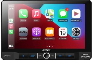 """Jensen CAR910X 9"""" Touchscreen Multimedia CarPlay Android Devices Ready Receiver"""