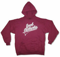 Jacob Whitesides Name Logo Maroon Red Pull Over Sweatshirt Hoodie New Official