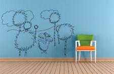 Lorax Dr Seuss Kids Cartoon Home Room Wall Sticker Vinyl Art Decals Decor