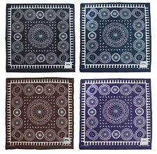 """Kapital Capital Fast Color Selvage Bandana """" Concho """" 4 Colors From Japan New"""