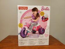 Fisher Price Barbie Big Wheel Trikes Tricycle Bike Tough Bicycle Kids Girls Toys