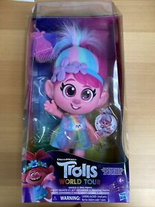 Trolls Dreamworks Poppy Doll Giggle and Sing COLLECTORS New in Box