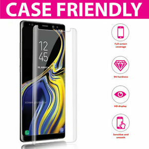 For Samsung Galaxy S8 S9 Plus 5D Genuine 100% Tempered Glass Screen Protector