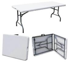 6ft Folding Table Trestle Camping Party Picnic BBQ Stall Garden Indoor