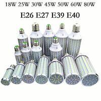 LED Bulb Lamps E27 E26 E39 E40 5730SMD Corn Lights 18W 25W 30W 45W 50W 60W 80W