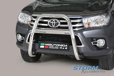 Toyota Hilux MK8 2016> Misutonida S/S HIGH Front A-Bar Bull Bar Nudge Bar 63mm