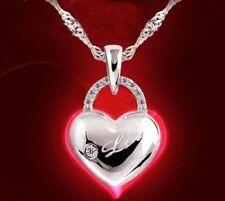 Modeschmuck-Halsketten & -Anhänger aus Kristall mit Herz Zirkon