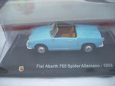 FIAT ABARTH 750 SPIDER ALLEMANO 1958  SCALA 143