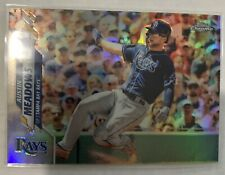 2020 TOPPS CHROME Austin Meadows Refractor #113 Tampa Bay Rays